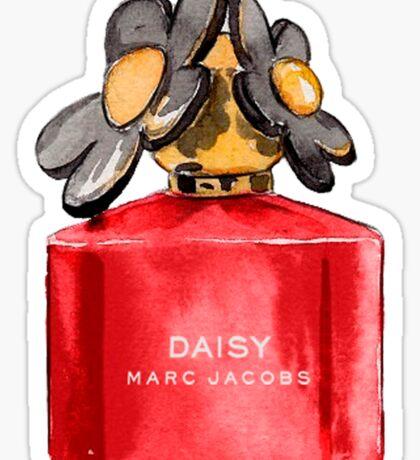 Daisy {red} #fragance Sticker