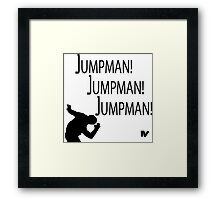 Jumpman! x3 Framed Print