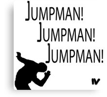 Jumpman! x3 Canvas Print
