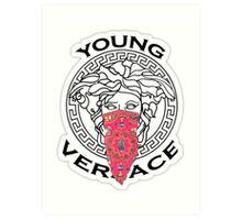 {Young} versace #fashion  Art Print