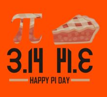 Happy Pi Day Kids Tee