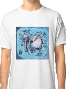 cartoon style flying elephant Classic T-Shirt
