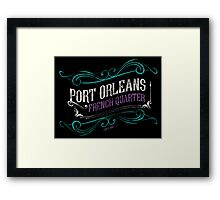 Port Orleans French Quarter Framed Print