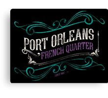 Port Orleans French Quarter Canvas Print