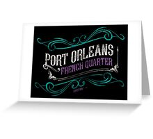 Port Orleans French Quarter Greeting Card