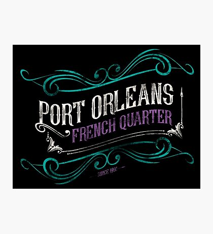 Port Orleans French Quarter Photographic Print