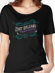 Port Orleans French Quarter Women's Relaxed Fit T-Shirt