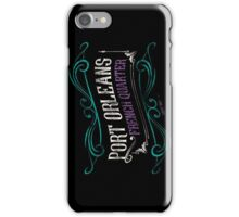 Port Orleans French Quarter iPhone Case/Skin