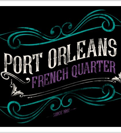 Port Orleans French Quarter Sticker