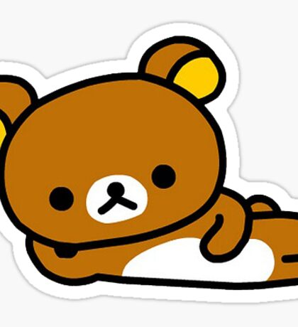 Rilakkuma laying down Sticker