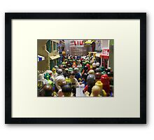 Welcome to Lacunar Urbs A Framed Print