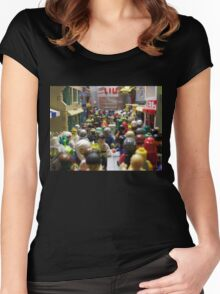Welcome to Lacunar Urbs A Women's Fitted Scoop T-Shirt