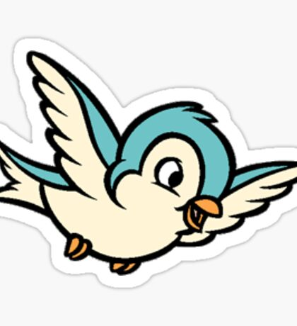 Fairytale Bird Sticker