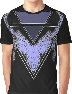 Triangle Deer 2 Graphic T-Shirt