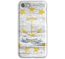 Rhode Island Flag iPhone Case/Skin