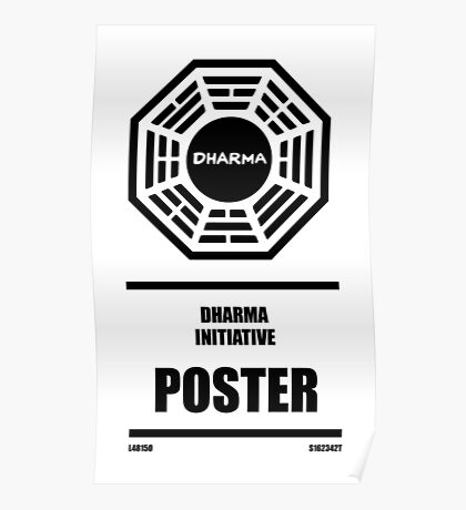 Dharma Initiative Products Poster