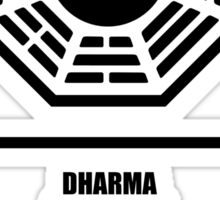 Dharma Initiative Products Sticker