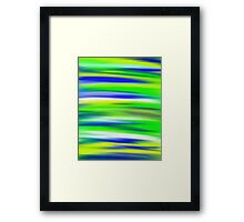 Zesty Sky Abstract Framed Print