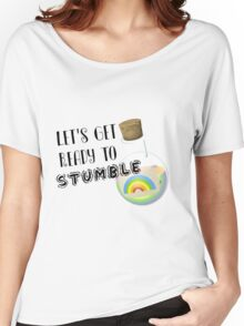 Let's Get Ready to Stumble St Pattys Day Apparel Women's Relaxed Fit T-Shirt