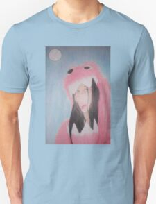 Beautiful in Pink Monster Suit (showing teeth) Unisex T-Shirt