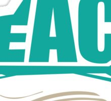The BEACH Sticker