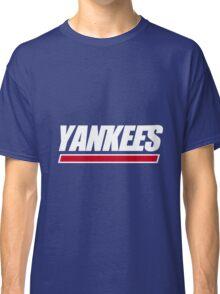 Ny Yankees Ny Giants logo swap Classic T-Shirt