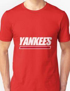 Ny Yankees Ny Giants logo swap Unisex T-Shirt