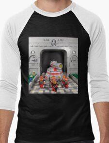 The LIU's Military Might Men's Baseball ¾ T-Shirt