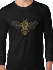 Mandala Bees Long Sleeve T-Shirt