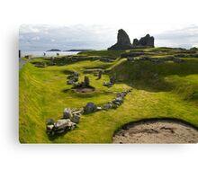 Jarlshof Shetland Islands Scotland UK Canvas Print