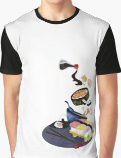 Food of Japan Graphic T-Shirt
