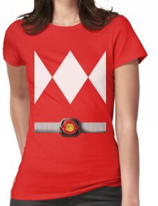 Mighty Morphin Pokémon Rangers - Red Tyrantrum - Morpher Womens Fitted T-Shirt
