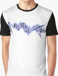 Nights of Azure Graphic T-Shirt