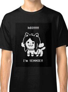 h0I! Temmie - Undertale Classic T-Shirt