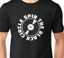 PJ - SPIN THE BLACK CIRCLE RECORD LOGO Unisex T-Shirt