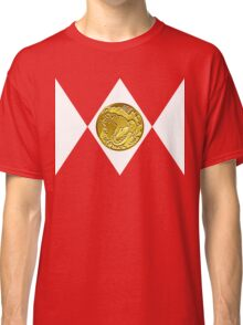 Mighty Morphin Pokémon Rangers - Red Tyrantrum Classic T-Shirt
