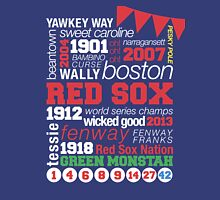 Boston Red Sox Typography Unisex T-Shirt