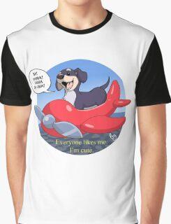 Dog of Wisdom Graphic T-Shirt