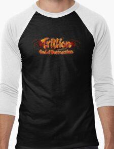 Trillion God of Destruction Men's Baseball ¾ T-Shirt
