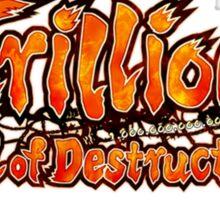 Trillion God of Destruction Sticker
