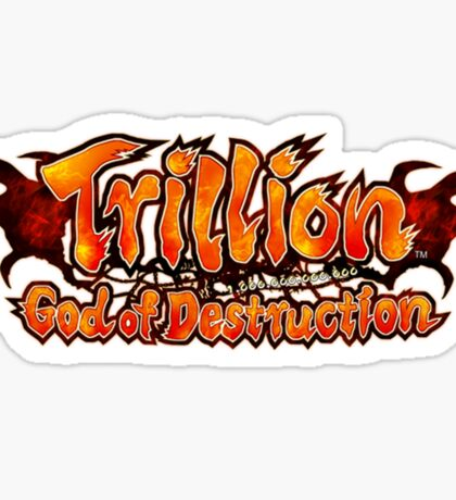 Trillion God of Destruction Sticker