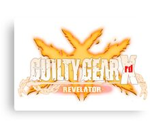 guilty gear xrd revelator Canvas Print