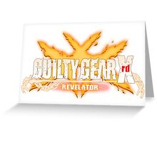 guilty gear xrd revelator Greeting Card