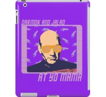 Picard Throwing Shade iPad Case/Skin