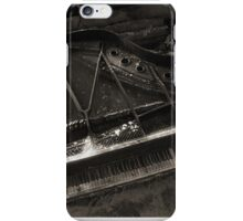 Abandoned Grand Piano iPhone Case/Skin