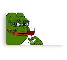 Rare Pepe Meme Metal Print