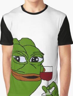 Rare Pepe Meme Graphic T-Shirt