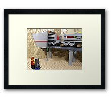 Highly Polluted Industrial World: Scruta Framed Print