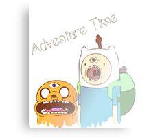 Adventure Time Trip Canvas Print
