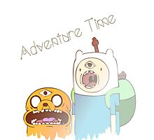 Adventure Time Trip Photographic Print